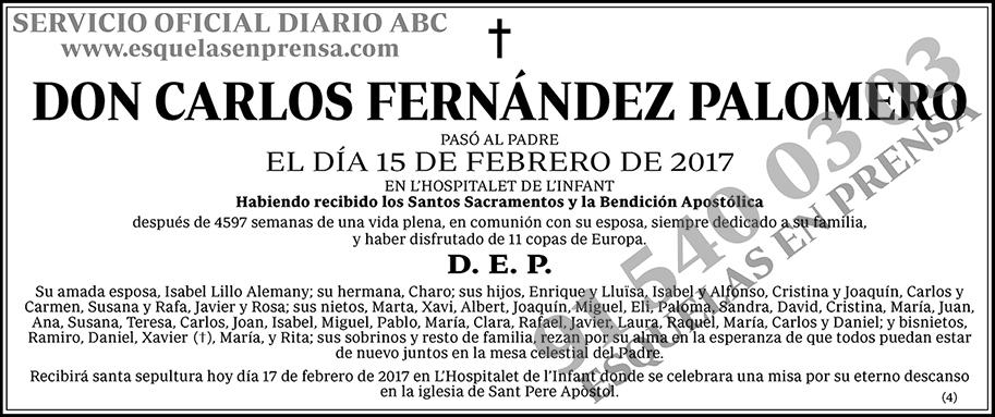 Carlos Fernández Palomero